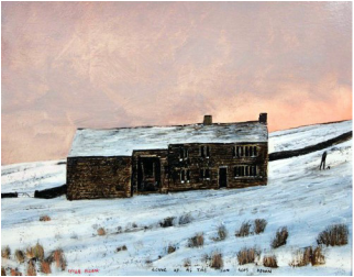 Peter Brook Limited Edition Print Going Up As The Sun Goes Down