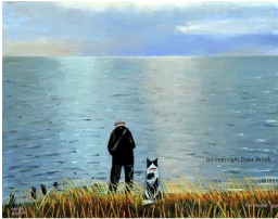 Peter Brook Limited Edition Print The North Sea