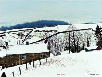 Peter Brook Limited Edition Print Waving Back