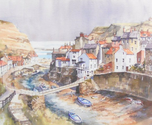 John Sibson Staithes Harbour