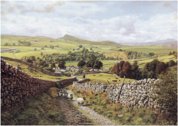 Keith Melling Open Edition Print Ribblesdale