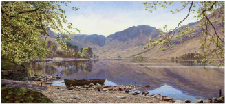 Keith Melling Open Edition Print Buttermere from Dalegarth