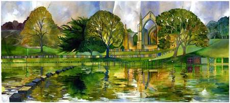 Kate Lycett Limited Edition Print Bolton Abbey Yorkshire