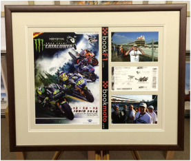 Motor Sport Picture Framing