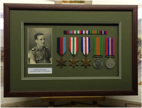 Medals Picture Framing Yorkshire