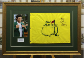 Golf Flag Picture Framing Yorkshire