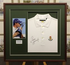 Golf Picture Framing