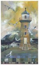 Kate Lycett Limited Edition Print The East Pier - Whitby