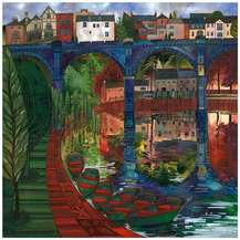 Kate Lycett Limited Edition Print The Viaduct Knaresborough Yorkshire