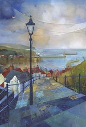 Kate Lycett Limited Edition Print Catch Your Breath - Whitby