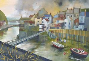 Kate Lycett Limited Edition Print Staithes