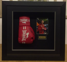Picture Framing Boxing Glove Kell Brook
